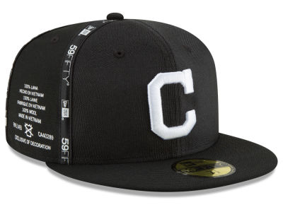 Cleveland Indians New Era MLB Inside Out 59FIFTY Cap