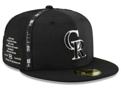 Colorado Rockies New Era MLB Inside Out 59FIFTY Cap