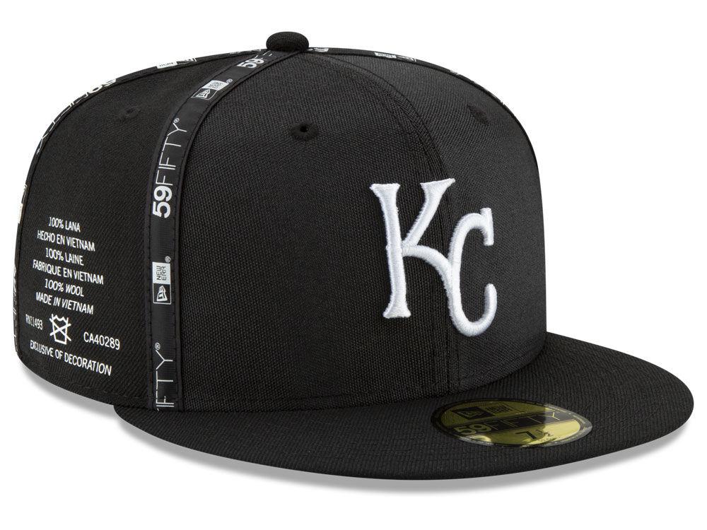 Kansas City Royals New Era MLB Inside Out 59FIFTY Cap  b8152a1a7d94