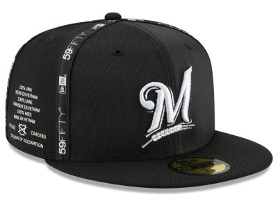 Milwaukee Brewers New Era MLB Inside Out 59FIFTY Cap