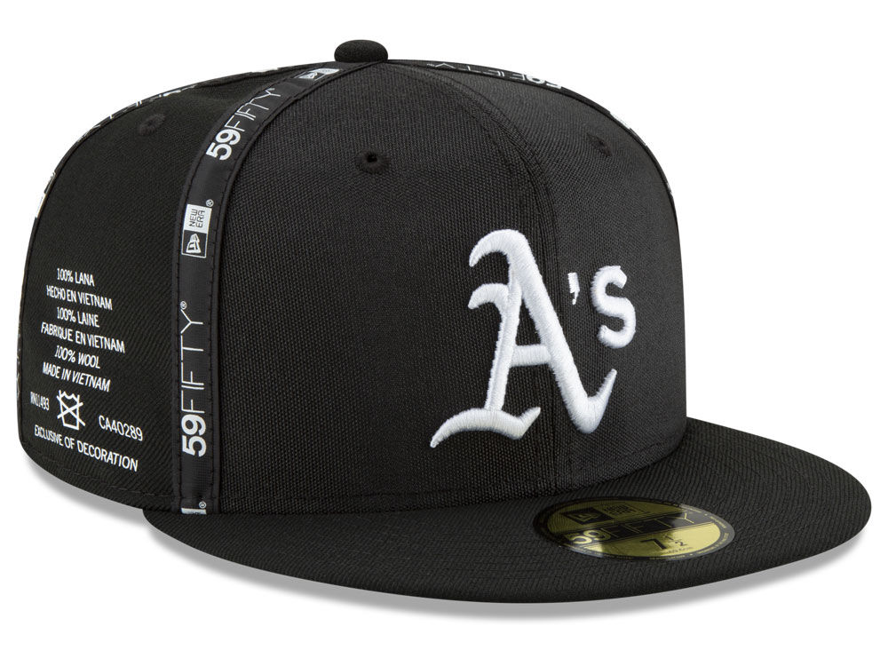 2a8acb5d149 Oakland Athletics New Era MLB Inside Out 59FIFTY Cap