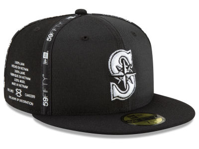Seattle Mariners New Era MLB Inside Out 59FIFTY Cap