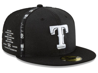 Texas Rangers New Era MLB Inside Out 59FIFTY Cap