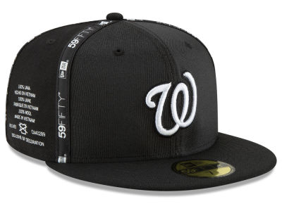 Washington Nationals New Era MLB Inside Out 59FIFTY Cap