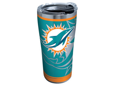 Miami Dolphins Tervis 20oz NFL Rush Stainless Steel Tumbler