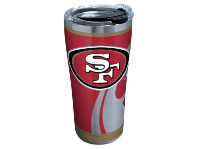 San Francisco 49ers Tervis 20oz NFL Rush Stainless Steel Tumbler