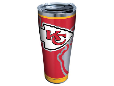 Kansas City Chiefs Tervis 30oz NFL Rush Stainless Steel Tumbler