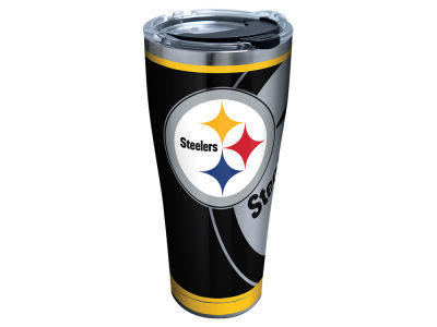 Pittsburgh Steelers Tervis 30oz NFL Rush Stainless Steel Tumbler