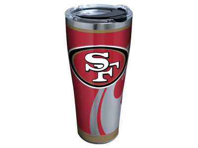 San Francisco 49ers Tervis 30oz NFL Rush Stainless Steel Tumbler