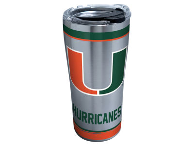 Miami Hurricanes Tervis 20oz NCAA Tradition Stainless Steel Tumbler