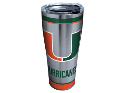 Miami Hurricanes Tervis 30oz NCAA Tradition Stainless Steel Tumbler
