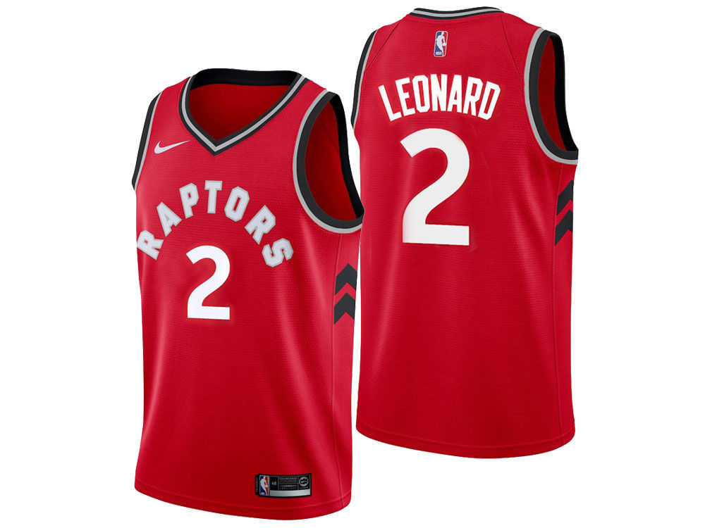Toronto Raptors Kawhi Leonard Nike NBA Youth Icon Swingman Jersey ... e974109dd
