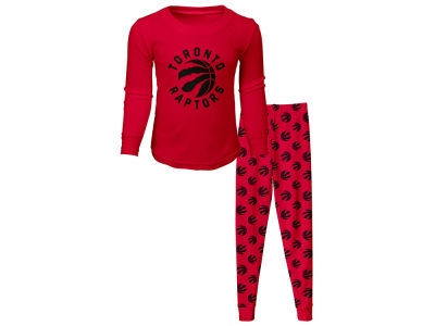 Toronto Raptors NBA Toddler Long Sleeve T-Shirt   Pant Set f603e4255