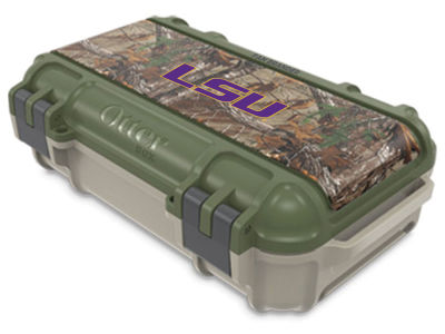 LSU Tigers OtterBox Tan/RealTree Drybox Case