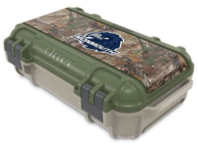 Monmouth University OtterBox Tan/RealTree Drybox Case