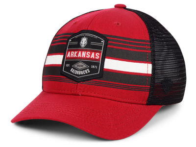 Arkansas Razorbacks Top of the World NCAA Branded Trucker Cap