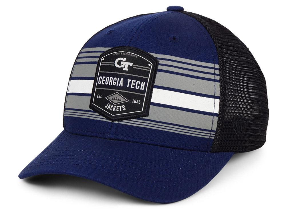 Georgia Tech Top of the World NCAA Branded Trucker Cap  67257a8d0d3b