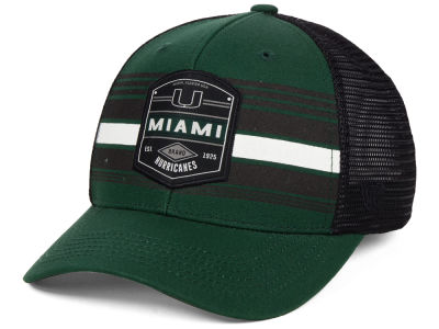 Miami Hurricanes Top of the World NCAA Branded Trucker Cap