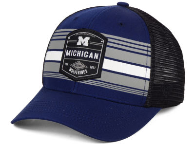 Michigan Wolverines Top of the World NCAA Branded Trucker Cap