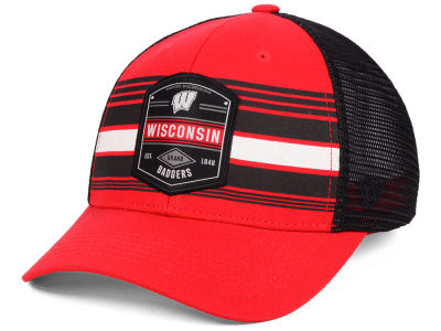 Wisconsin Badgers Top of the World NCAA Branded Trucker Cap