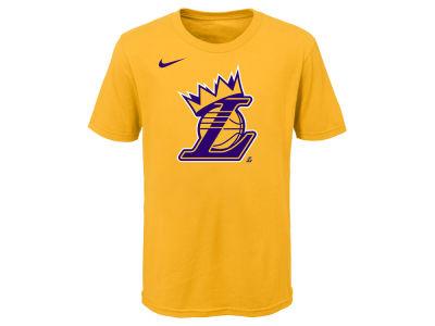Los Angeles Lakers Lebron James Nike NBA Kids Kings Crown T-Shirt