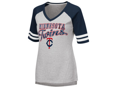 Minnesota Twins G-III Sports MLB Women's Goal Line Raglan T-shirt