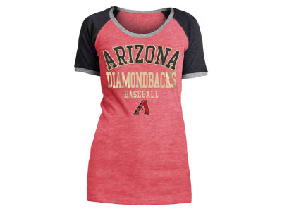 Arizona Diamondbacks 5th & Ocean MLB Women's Crew Colorblock T-shirt