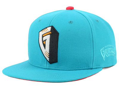 Vancouver Grizzlies Mitchell & Ness NBA Hardwood Classic First Letter Snapback Cap