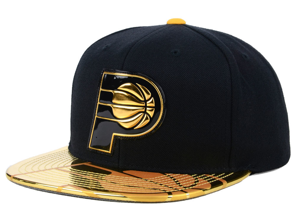 88746c2af4b Indiana Pacers Mitchell   Ness NBA Standard Snapback Cap