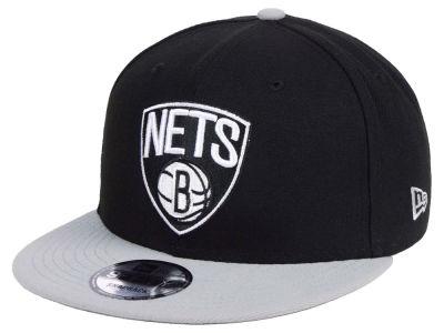 09a433c6041 Brooklyn Nets New Era NBA Basic 2 Tone 9FIFTY Snapback Cap