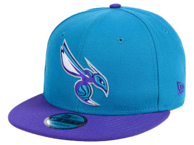 Charlotte Hornets New Era NBA Basic 2 Tone 9FIFTY Snapback Cap
