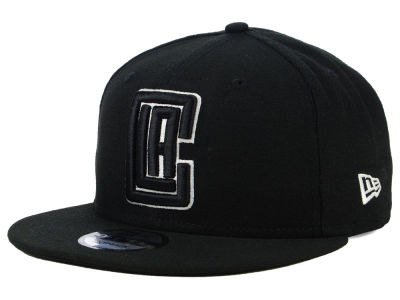 Los Angeles Clippers New Era NBA Black White 9FIFTY Snapback Cap