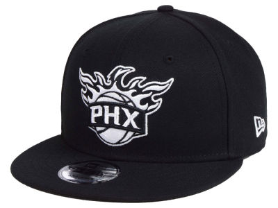 Phoenix Suns New Era NBA Black White 9FIFTY Snapback Cap