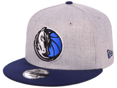 Dallas Mavericks New Era NBA Heather Gray 9FIFTY Snapback Cap
