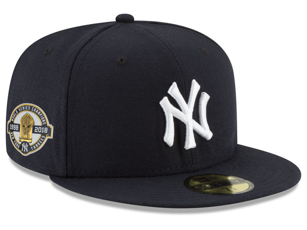 1e868ddb3a2 New York Yankees New Era MLB Authentic Collection World Series Anniversary  59FIFTY Cap