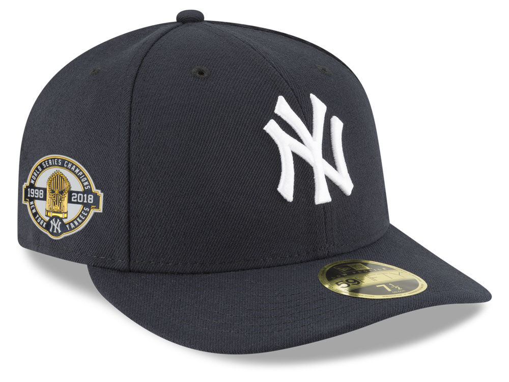 fef55f46651 New York Yankees New Era MLB Authentic Collection World Series Anniversary  Low Profile 59FIFTY Cap