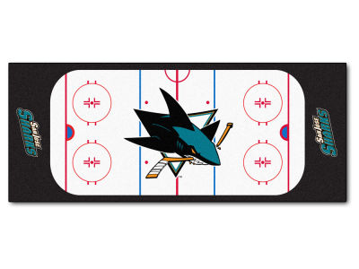 San Jose Sharks Fan Mats NHL Rink Runner