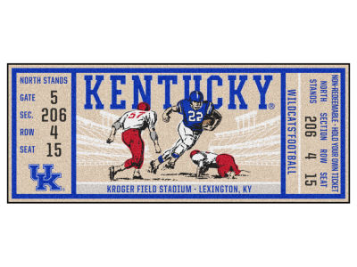 Kentucky Wildcats Fan Mats Ticket Runner Floor Mat