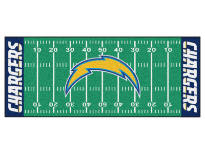Los Angeles Chargers Football Field Runner Rugs