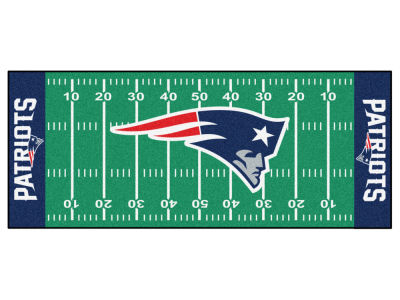 New England Patriots Football Field Runner Rugs
