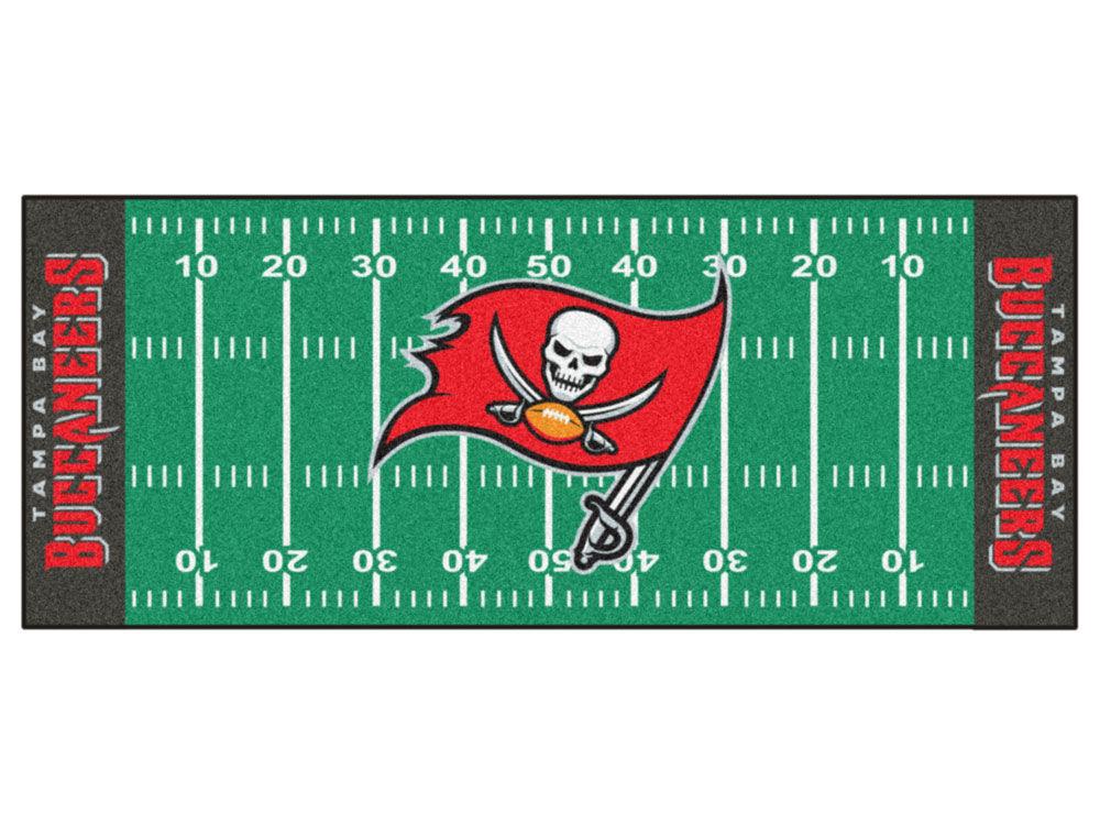 Tampa Bay Buccaneers Football Field Runner Rugs