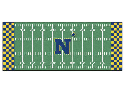 Navy Midshipmen Football Field Runner Rugs
