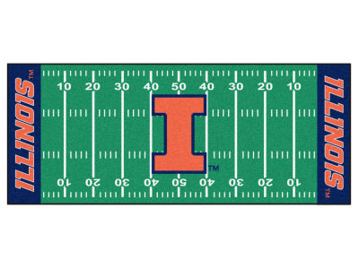 Illinois Fighting Illini Football Field Runner Rugs
