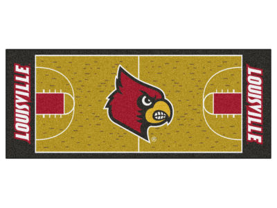 Louisville Cardinals Fan Mats Basketball Runner Floor Mat