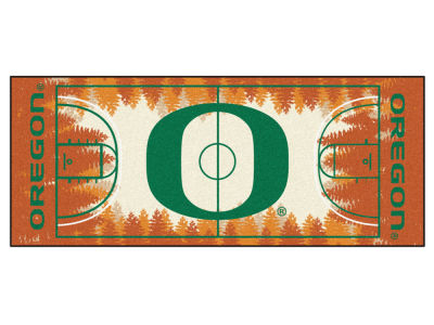 Oregon Ducks Fan Mats Basketball Runner Floor Mat