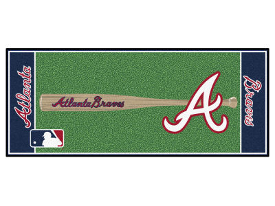 Atlanta Braves Fan Mats Baseball Runner Floor Mat