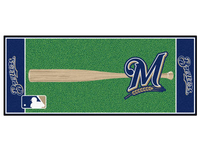 Milwaukee Brewers Fan Mats Baseball Runner Floor Mat