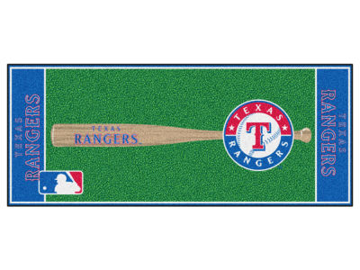 Texas Rangers Fan Mats Baseball Runner Floor Mat