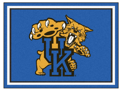 Kentucky Wildcats Fan Mats 8x10 Area Rug