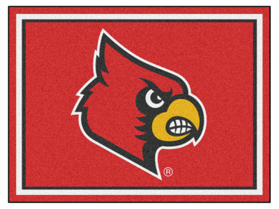Louisville Cardinals Fan Mats 8x10 Area Rug